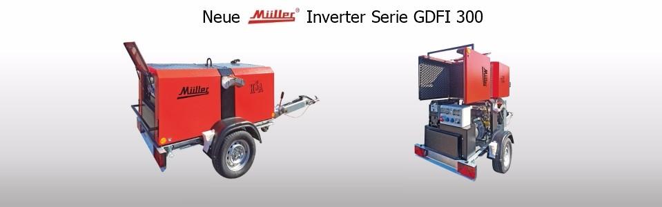 Neue Inverter Serie GDFI 300 und GDFI 350