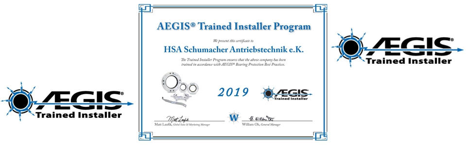 HSA - AEGIS Trained Installer 2019